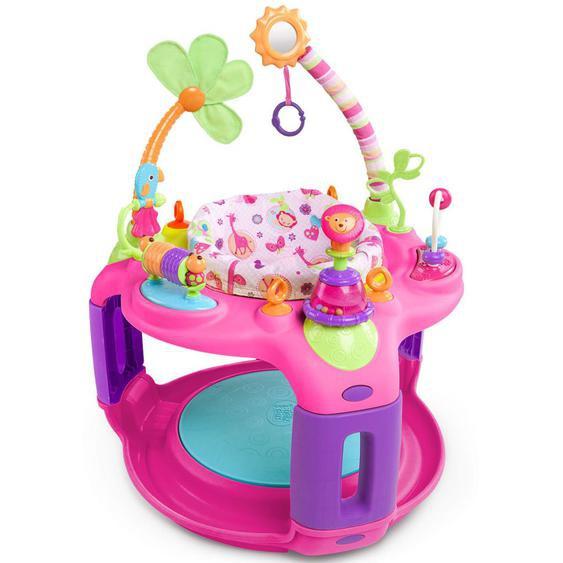 Bright Starts Spielcenter Sweet Safari Bounce-A-Round Pink K60330