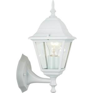 Brilliant Außen-Wandlampe Newport Weiß 32 cm x 22 cm