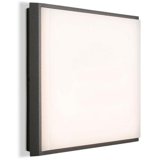 Brilliant LED-Außenwandleuchte, Anthrazit, Aluminium 24 x 24 cm