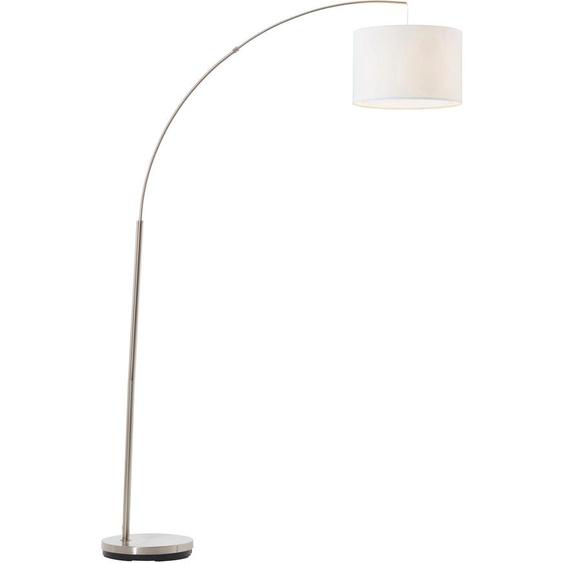 Brilliant Leuchten Bogenlampe Clarie, E27 1 flg., Ø 36,5 cm Höhe: 180 silberfarben Bogenlampen Stehleuchten Lampen