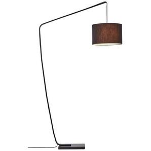 Brilliant Leuchten Bogenlampe »Daria«, Bogenstandleuchte 2,1m schwarz