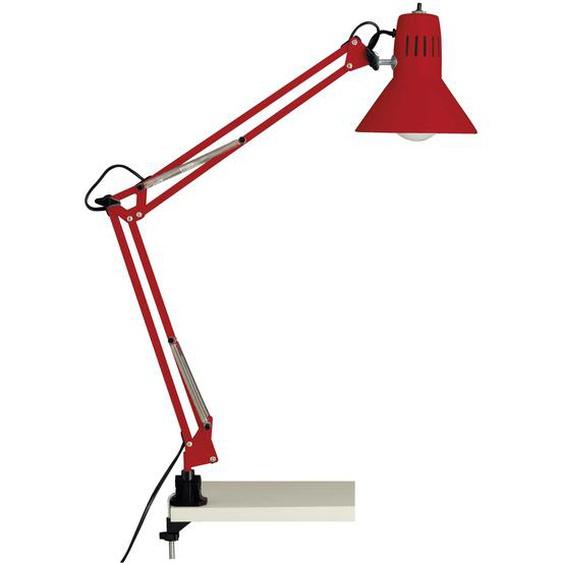 Brilliant Leuchten Hobby Schreibtischklemmleuchte rot Einheitsgröße Leselampen Lampen Tischleuchten