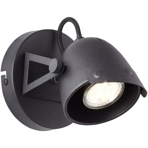 Brilliant Leuchten Ka Wandspot schwarz korund Einheitsgröße Wandleuchten Lampen