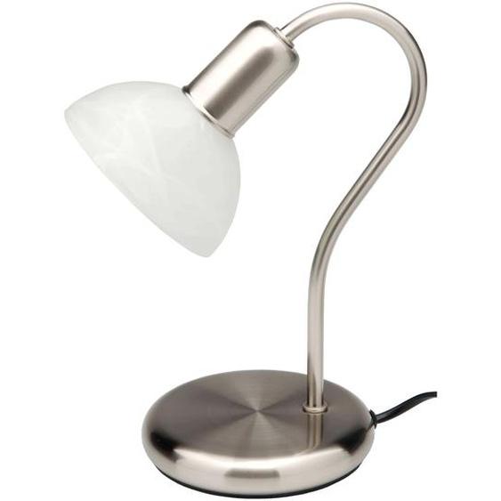 Brilliant Leuchten Pearl Tischleuchte eisen/weiß-alabaster Einheitsgröße weiß Tischleuchten