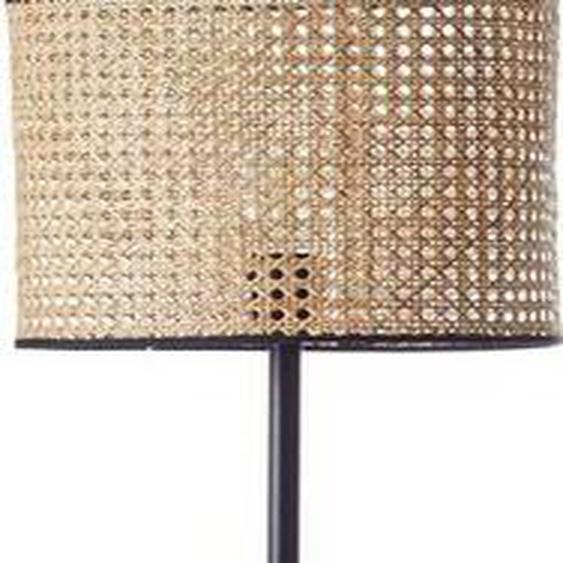 Brilliant Leuchten Stehlampe »WILEY«, mit Fußschalter; für LED-Leuchtmittel geeignet, Wiener Geflecht