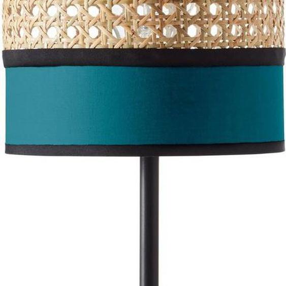 Brilliant Leuchten Tischleuchte »DAYANARA«, mit Schnurzwischenschalter; für LED-Leuchtmittel geeignet, Wiener Geflecht