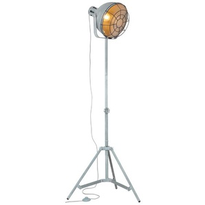 Brilliant Stehlampe, Beton, Alu, Eisen, Stahl & Metall