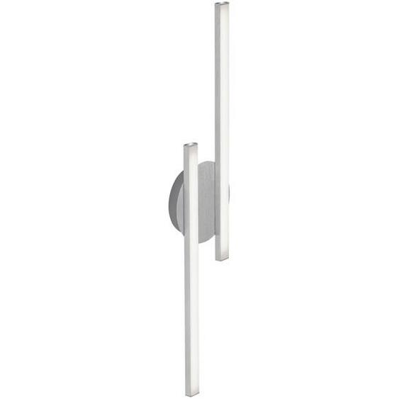 Briloner LED-Deckenleuchte Go 480 lm 2-flammig, silbern