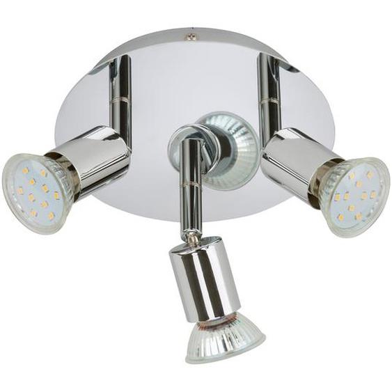 Briloner LED-Deckenleuchte Splash 3 W