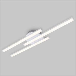 Briloner Leuchten Deckenleuchte »Newai«, 3-flammig, Deckenlampe modern 6W, 480lm, 3000K, IP20