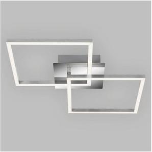 Briloner Leuchten LED Deckenleuchte »Trilo«, 2-flammig, Deckenlampe drehbar, in Stufen dimmbar 62x36,8cm