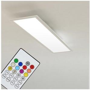 Briloner Leuchten LED Panel »Murdock«, 1-flammig, Deckenlampe RGB + CCT Farbwechsel 59,5x15x4,5cm