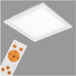 Briloner Leuchten LED Panel »Warso«, 1-flammig, Deckenlampe CCT Farbtemperatursteuerung 30x30cm