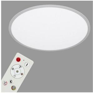Briloner Leuchten LED Panel »Torgot«, 1-flammig, Deckenlampe Ø56cm ultraflach mit CCT + Nachtlicht