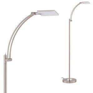 Briloner Leuchten LED Stehlampe »Ketchum«, 1-flammig, Stehleuchte dreh- und schwenkbar, warmweiß