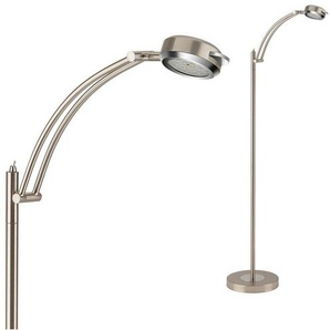Briloner Leuchten LED Stehlampe »Phil«, 1-flammig, Stehleuchte dreh- und schwenkbar, warmweiß
