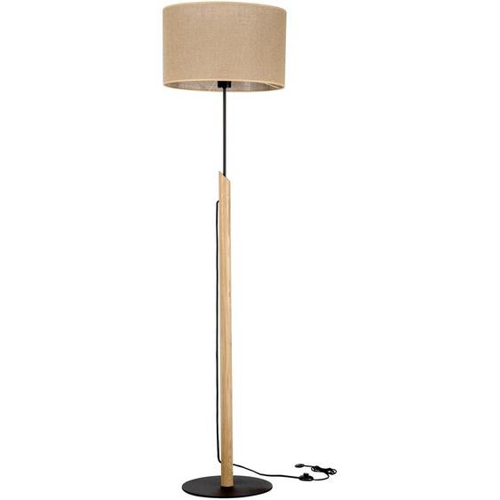 BRITOP LIGHTING,Stehlampe COLETTE 1 -flg. / Ø40 cm, cm H:156 braun Standleuchten Stehleuchten Lampen Leuchten