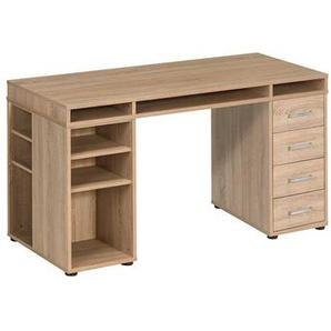 B�ro Schreibtisch in Sonoma Eiche 150 cm