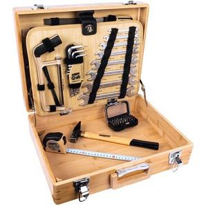 Brüder Mannesmann Werkzeuge Werkzeugset, 108-tlg. Einheitsgröße beige Werkzeugset Werkzeugkoffer Werkzeug Maschinen
