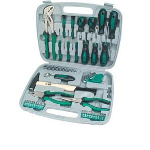 Brüder Mannesmann Werkzeuge Werkzeugset (57-tlg.), (Set, 57 St.) Einheitsgröße grau Werkzeugkoffer Werkzeug Maschinen