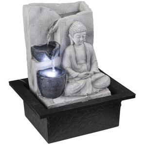 Brunnen Albert aus Kunststoff mit Licht