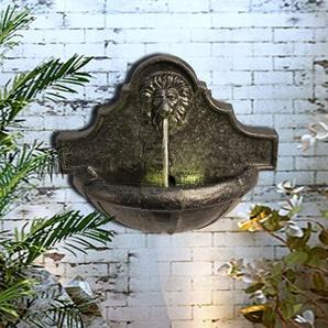 Brunnen Meadowbrook aus Kunstharz mit Licht