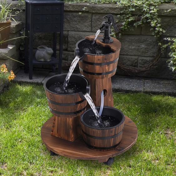 Brunnen Molimo aus Holz