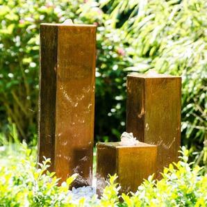 Bodenbrunnen Seminole aus Metall mit Licht