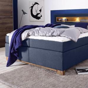 Bruno Banani Boxspring-Bett, blau