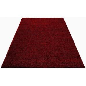 Bruno Banani Hochflor-Teppich  »Shaggy Soft«, 70x140 cm, 30 mm Gesamthöhe, lila