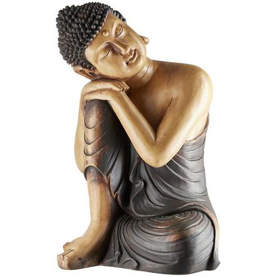 Buddha - braun - Polyresin (Kunstharz) | Möbel Kraft