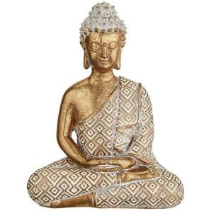 Buddha   gold   Polyresin (Kunstharz)   12,5 cm   Möbel Kraft