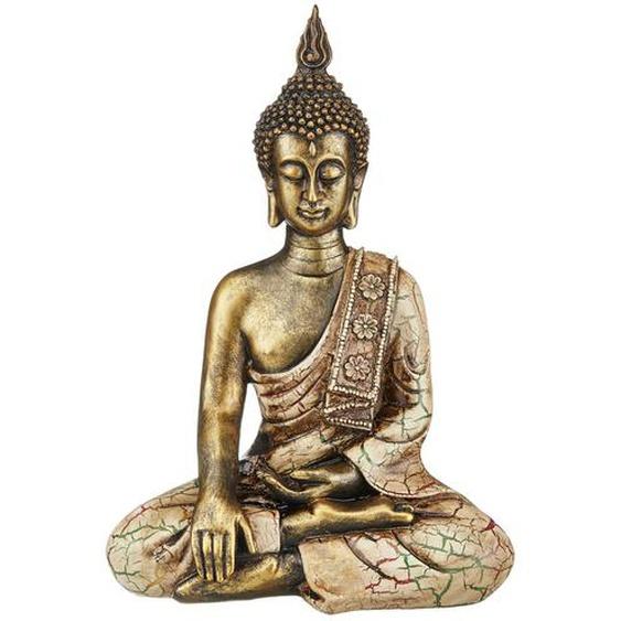 Buddha - gold - Polyresin (Kunstharz) | Möbel Kraft