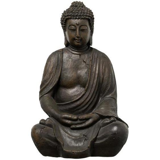 Buddha - grau - Polyresin (Kunstharz) | Möbel Kraft