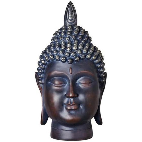 Buddhakopf - braun - Polyresin (Kunstharz) | Möbel Kraft