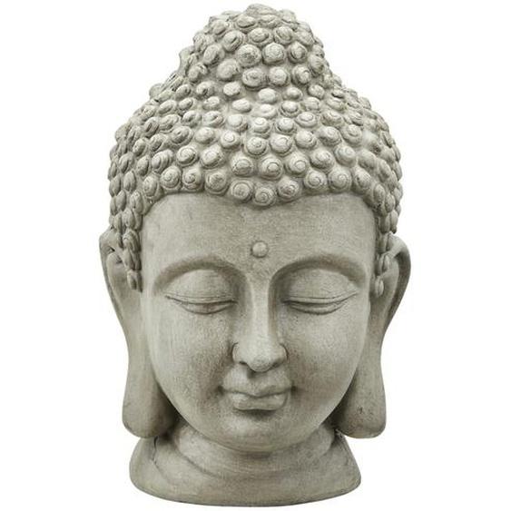 Buddhakopf - grau - Magnesia | Möbel Kraft