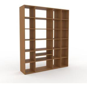 Bücherregal Eiche, Holz - Modernes Regal für Bücher: Hochwertige Qualität, einzigartiges Design - 193 x 233 x 47 cm, konfigurierbar