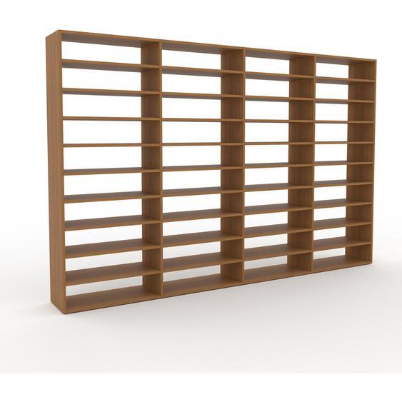 Bücherregal Eiche, Holz - Modernes Regal für Bücher: Hochwertige Qualität, einzigartiges Design - 301 x 195 x 35 cm, konfigurierbar