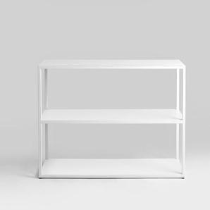 Bücherregal HYLLER METAL 100x75 - weiß