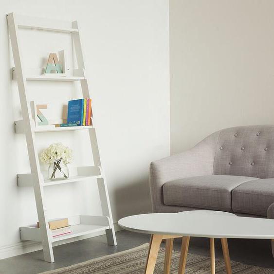 Bücherregal weiß MOBILE TRIO