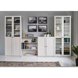 Büro Ordnerschrank in Weiß 80 cm