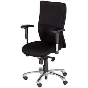 Bürodrehstuhl mit Armlehnen  Spree ¦ schwarz