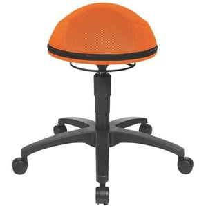 : Hocker, Orange, Schwarz, H 53-66