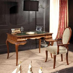 Büroschreibtisch in Nussbaumfarben italienischen Design