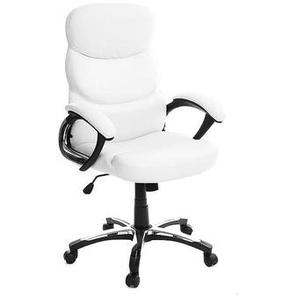 Bürosessel GALLIEN Weiß, zusammenklappbar