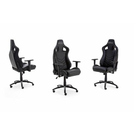 Bürostuhl Gaming Stuhl Mcracing Kunstleder Schwarz