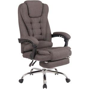 vidaXL Leder Chefsessel Drehstuhl Bürosessel Büro Lehnstuhl Armsessel Massage