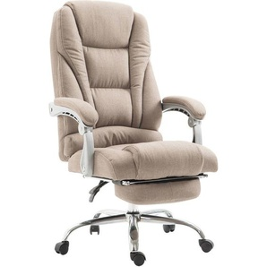 Bürostuhl Pacific Stoff mit Fußablage-taupe - PAAL OFFICE FURNITURE