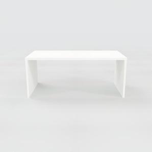 Bürotisch Massivholz Weiß - Moderner Massivholz-Bürotisch: Einzigartiges Design - 180 x 75 x 90 cm, konfigurierbar