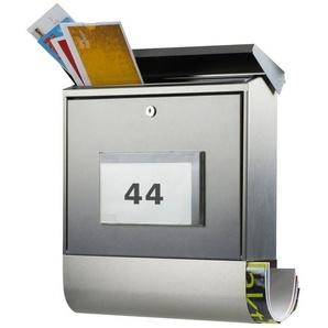 BURG WÄCHTER Briefkasten »Malaga 4400 Ni«, Solar-Briefkasten